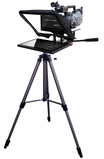 What size of Teleprompter should we use?